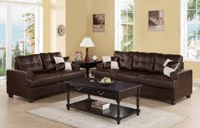Upholstered Living Room Sets Liuboml 2 Pieces Living Room Set Upholstered In Bonded Leather