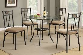 round glass dining table set within and chairs remodel 4