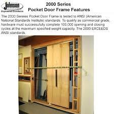 sliding door kits double pocket quality control series frames track kit wardrobe doo
