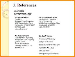 References Format Resume Hospinoiseworksco How To Write References ...