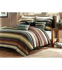 queen king comforter sets stripe comforter set cabin striped queen king size 1 j queen new