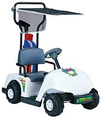 Kid Motorz Junior 6v Pro Golf Cart Ride On White
