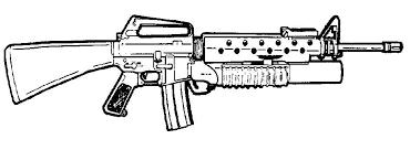Nerf Gun Coloring Pages Gun Coloring Page Free Printable Coloring