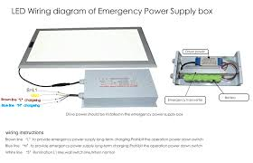 shenzhen kvd led emergency power supply box designed for panel light qq20160830112321 png