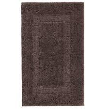 classic reversible bath mat brown