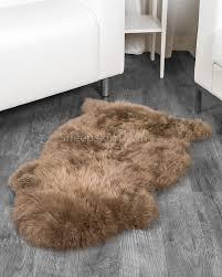 paco sheepskin rug 2x3 5 ft