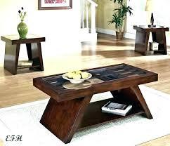 light wood end tables coffee table sets stun elegant glass skinny tab light wood coffee