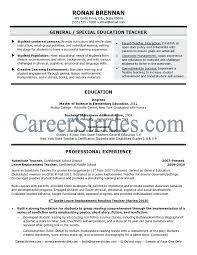 Teacher Resume Examples Elementary School Teacher Resume Sample A