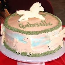 Horse Cake Decorating Photos