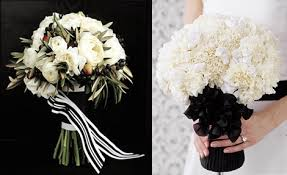 black and white wedding bouquets sang maestro Wedding Bouquets Black And White black and white wedding bouquets black and white silk wedding bouquets