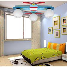 childrens bedroom lighting. plane model childrenu0027s bedroom ceiling lights boy room lamps glass u0026 wood creative rural cartoon kids childrens lighting