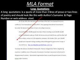 Mla Long Quote Cool Mla Format Quotes Homework Service