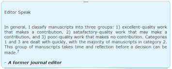Magazine Editor Job Description Beauteous Peer Review And Editorial Decision Making Process At Publishing Journals
