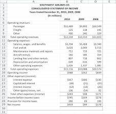 Balance Sheet Statement Template Free Accounting Templates