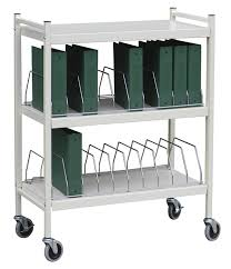 Medical Chart Carts With Vertical Racks Medical Chart Carts With Vertical Racks Standard