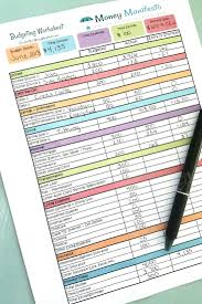 Free Budgeting Printable To Help You Learn To Budget Money