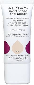 Almay Smart Shade Anti Aging Makeup Light Amazon Com Almay Smart Shade Anti Aging Skintone Matching