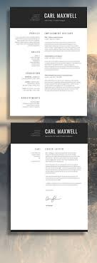 Single Page Cv Template: | Freelance Tips | Pinterest | Cv Template ...