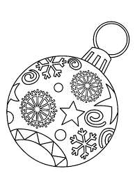 Christmas Coloring Pages Ornaments Verpa Coloring Pages