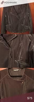 Soft Surroundings Size Chart Beautiful Pewter Velvet Moto Style Jacket Soft Surroundings
