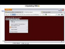 Wiki Upload File Moodle Wiki Student File Upload