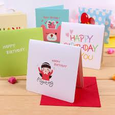 Usd 4 06 Cute Thank You Card Birthday Card Message Card
