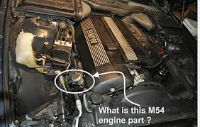 e60 520 wot is this part and why is it missing off my m54 engine wot is this part and why is it missing off my m54 engine