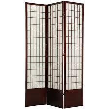 Oriental Furniture Jute Fiber Shoji Screen Room Divider-84 Inch | Hayneedle