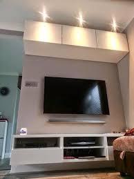 ikea besta lighting. Ikea Besta TV Bench, Storage Units \u0026 Urshult LED Lighting