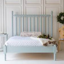 Harriett Spindle Bed with Low Footboard by The Beautiful Bed Company