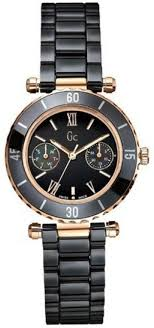 guess collection gc g42004l2 black ceramic ladies watch guess guess collection gc g42004l2 black ceramic ladies watch