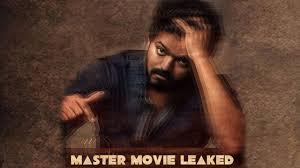 Master movie scenes leaked online ...