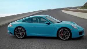 2016 Porsche 911 Carrera S in Miami Blue Design Exterior ...