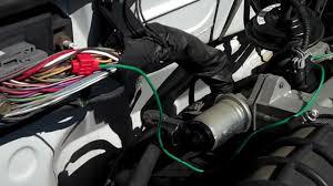 2000 ford ranger engine bay pcm youtube 1999 ford ranger tachometer not working at Ford Ranger Tachometer Wiring Diagram