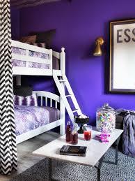 Shared Teenage Bedroom Twin Shared Teenage Bedroom Decor Comes With Purple Cool Wall