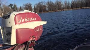 1957 johnson 7 5hp outboard motor