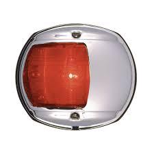 Red Side Light On Boat Amazon Com Perko Led Side Light Red 12v Chrome Plated