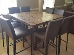 all wood dining room table. Home \u0026 Garden · Furniture Granite High Top Dining Table All Wood Room
