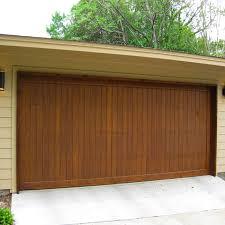 remote control garage door solid wood garage door