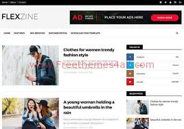 Responsive Magazine Blogger News Template Freethemes4all