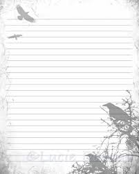 Lined Page Template Unique Digital Printable Journal Page Stationary 48x48 JPG Download Etsy