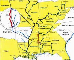 Tennessee Tombigbee Waterway Map Secretmuseum