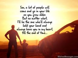 I Love You Messages For Son Quotes WishesMessages Enchanting Father And Son Love Quotes