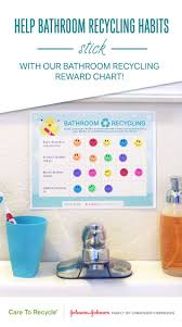 Get Your Kids Involved In Bathroom Recycling With This Fun
