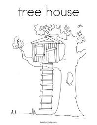 Tree House Coloring Page Magic Tree House Activities House