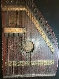 Antique Marx Pianophone Auto Harp Marxophone Zither Harp