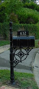 custom metal mailbox.  Mailbox Lovely Custom Metal Mailbox Post Throughout