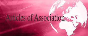 Image result for article of association