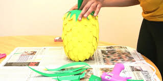 view in gallery diy pineapple lamp guide