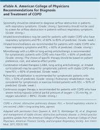 Copd Guidelines Chart Chronic Obstructive Pulmonary Disease Diagnosis And
